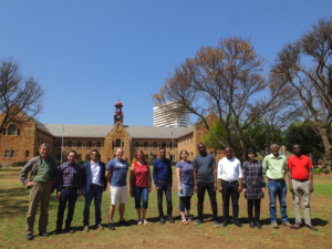Project Meeting Pretoria Group Picture